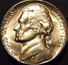 1951-P Jefferson Nickel Choice/Gem BU Uncirculated