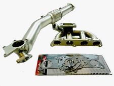 OBX SB Exhaust T3 Turbo Manifold Header For 2000 01 02 03 04 05 Celica GT-S 1.8L