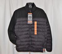 NWT Men's Hawke & Co. Sport Performance Down Puffer Soft Shell Black Jacket XXL