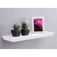 Wandboard Landwood Wandregal Hängeboard in weiß mit 1 Ablage 60 cm Landhausstil