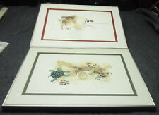 2 Charles Frederick C.F. Lovato Framed Matted Hand Signed LTD Prints NEW MEXICO