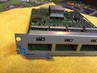 J8707A HP ProCurve 4-Port 10-GbE X2 Module for 5400zl 8200zl J8697A J8698A