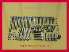 Suzuki Savage LS 650 V2A Schrauben Edelstahlschrauben Motorschrauben LS650