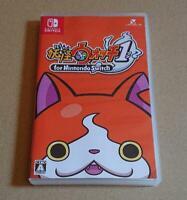 Nintendo Switch Yo-Kai Watch 1 for Nintendo Switch Yokai JAPAN USED w/Tracking#