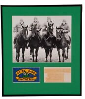The Four Horsemen of Notre Dame Signed Framed Collage Beckett BAS