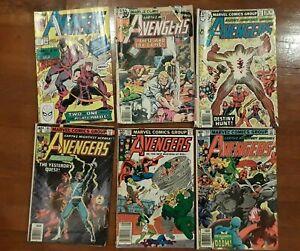 Avengers Marvel Comic Lot Spotlight