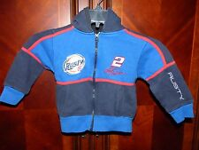 NASCAR Rusty Wallace Zip Up Hoodie Toddler Size 3T Winner's Circle