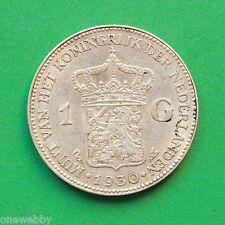 1930 Netherlands Silver 1 Gulden SNo32807