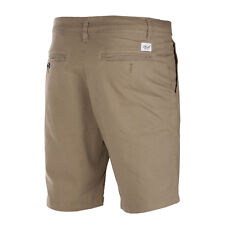Reell Flex Grip Chino Short beige dark sand Herren Bermuda mit Stretch
