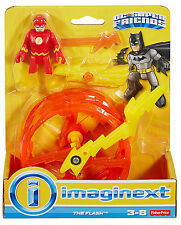 IMAGINEXT_DC SUPER FRIENDS Collection_The FLASH figure_Super Speed Running Wheel