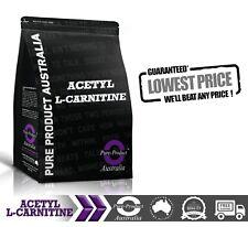 ACETYL L CARNITINE PURE POWDER 500G ALCAR * PREMIUM GRADE * LABORATORY TESTED
