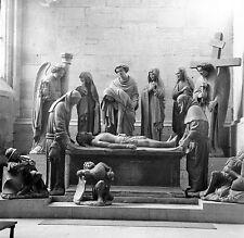 SUISSE c. 1950 - Cathédrale Mise au Tombeau Fribourg - Négatif 6 x 6 - Sui 101