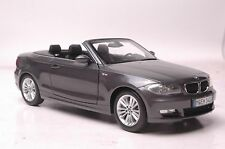 BMW 120 Cabrio model in scale 1:18 gray