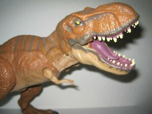 Jurassic World Giant Chomping T-Rex Tyrannosaurus Rex Jurassic Park JW 2015 Dino