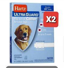 "Hartz Ultraguard Flea - Tick Dog Collar, Large 26"" 1 (Pack of 2)"