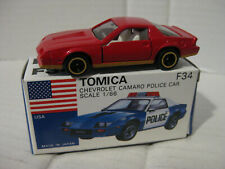 Tomica F34 Camaro--My special issue in Metallic red one of 1008 1/66 scale RARE
