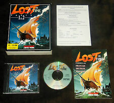 Lost in Time: parts 1 & 2 (1993) PC, MS-DOS, Adventure, CD-version, rareza