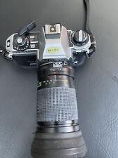 Nikon FG-20 Spiegelreflexkamera analog mit Sigma ZOOM f=35 70 mm 1:2,8-4 TOP ANG