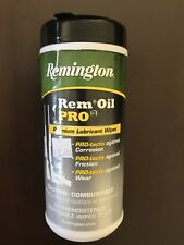 Remington Rem Oil Premium Lubricant Wipes