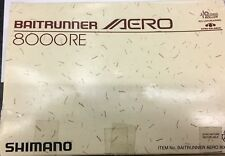 MULINELLO Shimano BAITRUNNER AERO 8000RE NEW VINTAGE WITHOUT BOX
