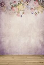 Studio  Backdrops Floral Background Wall Props 5x7ft Vinyl Photography  Vintage