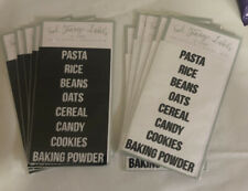Food Storage Labels New In Package 10 Packages Of 16 Labels
