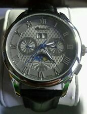 INGERSOLL AUTOMATIC MEN WATCH IN8402GY ROMAN NUMBERS.MINT GREAT TIME PIECE