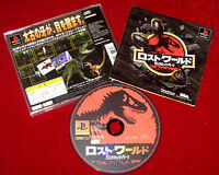 PS1 Game THE LOST WORLD - JURASSIC PARK NTSC-J Japan Import PlayStation