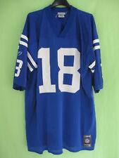 Maillot Indianapolis Colts Peyton Manning Football Americain Reebok jersey - XL