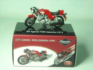 Atlas Editions MV AUGUSTA 750S MOTORBIKE MODEL 1:24 Scale Classic Motorbikes Box