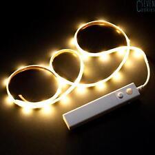1M 30 LED Kleiderschank Licht Bettlicht Nachtlicht Streifen Wireless