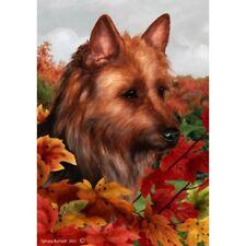 Fall House Flag - Australian Terrier 13203