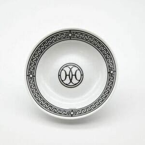 HERMES H DECO Black Small plate Auth #062317