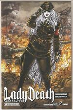 Lady Death Apocalypse 5. Alternate History Edition. Signed and Certified.