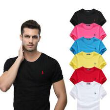 6 colori Novità Polo uomo Ralph Lauren22 T-Shirt manica corta taglia S~6XL New *