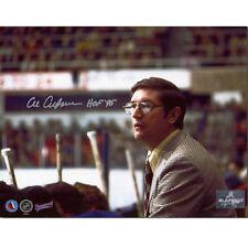 Al Arbour New York Islanders Signed 8x10 Vintage Photo