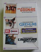 COFFRET 3 DVD / 3 FILMS - LES GOONIES / GREMLINS / L'AVENTURE INTERIEURE - NEUF