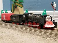 "TOMY Trackmaster Thomas & Friends ""SNOW CLEARING HIRO"" 2009 WORKING Train"