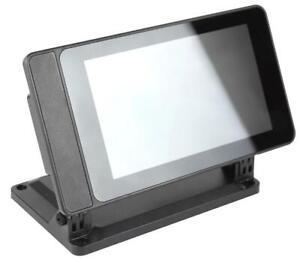 SmartiPi Touch 2 Touchscreen Enclosure for Raspberry Pi, Black - SMARTICASE