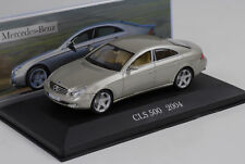Mercedes-Benz CLS 500 C219 2004 gold/ beige metallic 1:43 IXO Altaya Collection