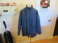Liz Claiborne Womens purple Long Sleeve Full Zip Coat Jacket X-Large XL soft lin