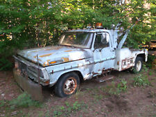 1972 Ford F-350 w/ Holmes 440 Tow body. ALL ORIGINAL. ALL THERE. Ran when parked