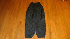 COLUMBIA SPORTSWEAR LINED NYLON OUTDOOR PANTS WITH LEG ZIPPERS~ SIZE M x 30 INS.