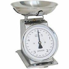 Stube bilancia da cucina analogica kg 5 divisione 20 g in acciaio inox