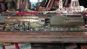 HO Brass Balboa SP 4-6-2 P-10 Streamlined Runs On Track Southern Pacific Katsumi
