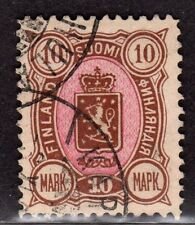 $Finland Sc#45 used, Xf, top value, Cv. $90
