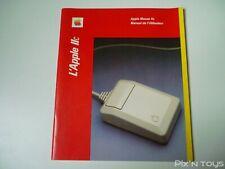 Apple Mouse IIc Manuel de l'utilisateur [ Version Française ]