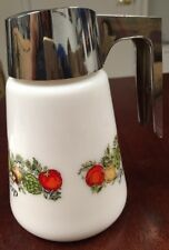 GEMCO Pot A Creme & Le Sirop Corning Ware Spice Of Life Syrup Pitcher