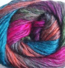 King Cole Riot Chunky Multi Coloured Knitting Wool Yarn 100g Wicked 661