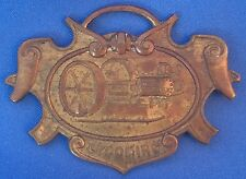 Antique Vintage LYCOMING ENGINE Advertising WATCH FOB